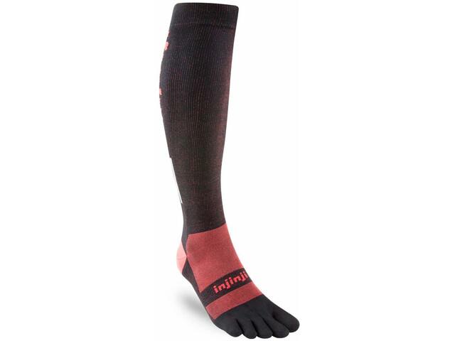 Injinji Compression LW OTC Socken black